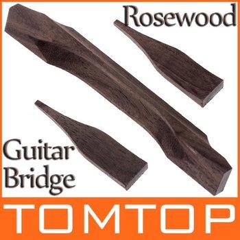 Jazz Guitar Bridge Made of Rosewood I82
