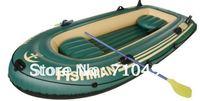 free DHL shipping JiLong Fishman 300 3 persons air fishing boat, rigid inflatable fishing boat with pump & paddle & air cushions