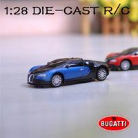 1:28 DIE-CAST Ettore Bugatti R/C Cars Super alloy remote control car