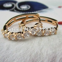 Low Price,high quality ,womens earring 18K Yellow Gold Filled Hoop Earring womens Jewelry ,fashion jewelry ,on sales