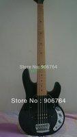 Brand musicman 5 strings stingray electric bass guitar black free shipping music man