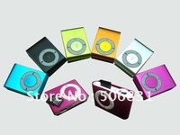 free shipping  gift cheapest mini clip mp3 player with TF card slot