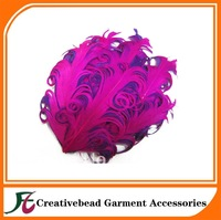 free shipping curly nagorie feather pad for hair accoriess(60pcs/lot)