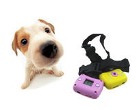 2015 Digital Clip On Collar USB TF Card Slot Camcorders Pet Camera 300KP Supply Dogs Collar Pet's Dog Cat Eye View Camera