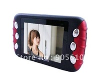 "Wholesale 2.4"" screen 4GB Car audio Car MP3 MP4 MP5 Player with holder built-in speaker and FM Transmiter Free EMS"