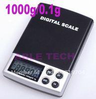 Free shipping 5pcs/lot Mini 1000 x 0.1 Gram Digital Pocket Scale Jewelry Scale free shipping