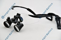 Free Shipping Hight Quality Ultra-Light  Black sport frame 3X Dental Loupes  Medical Surgical loupes for dentist surgery