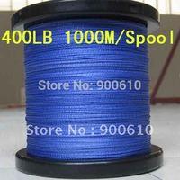 Super Strong 100% UHMWPE 8-Braid Fishing Line 400LB 1.5MM 1000M/Reel