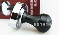 2014 Special Offer Limited Coffee Tampers Black 301-400ml 1000ml Free Shipping Coffee Tamper, Depressor( 57.5mm,wooden Handel)