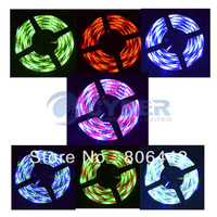 Promotion 5M RGB 3528 Flexible Waterproof 300 Led Strip Light +24 Keys IR Remote  dropshipping