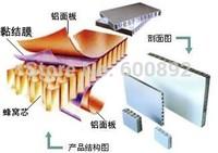 hot melt adhesive/thermoplastic  film for aluminum honeycomb  plates