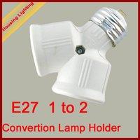 E27 Lamp Holder Converter, 1 for 2, Lamp Holder Converter,  for LED Light [Housing Lighting]
