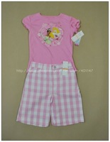 Big Sales!Children clothing set,  6 sets/lot