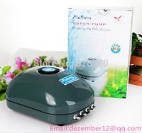 Super Silent Fish Tank Aquarium Air Pump Oxygen Pump 10W 10L/Min New