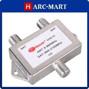GC02-01 Satellite TV Antenna Signal Frequency Divider Mixer ANT Diplexer #WB201