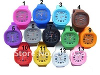 2012 new design Shine ODM Jelly Watch Fashional LED shine watches ss.com  1000pcs free shipping via DHL