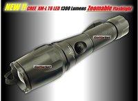 Free EMS, 10pcs/lot,UniqueFire UF-V11 CREE XML T6 1300 Lumens 5-Mode Led Flashlight Torch
