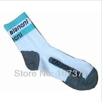 10pair/lot bianchi New bike socks sport cycling socks bicycle socks&free shipping