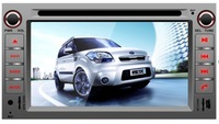 SPECIAL CAR DVD WITH GPS FOR KIA SOUL 2010-2011 7 inch 2-DIN touch screen TFT LCD display