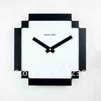 8 bit PIXEL Wall Clock 80s retro time pixel novelty clock--Back on 80s Free shipping