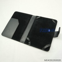 Black Textured PU Leather Folio Case for Amazon Kindle 4 4th Generation & Kindle Touch