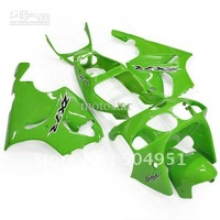 1 Full set K7603 Light Glossy Green Fairing Kit for KAWASAKI Ninja ZX7R ZX-7R ZX 7R ZZR 750 1996 - 2003 96 97 98 01 02