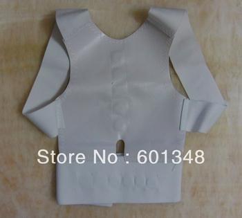 free shipping&100pcs/lot/TV postural support,Power magnetic back support ,back strap ,postural correction belt