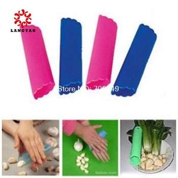 5pcs New 2015 Novelty Households Garlic Peeler Kitchen Fruit Vegetable Cooking Tools -- KCP11