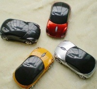 Mini wireless USB RF cordless car mice mouse laptop PC Mini Car 2.4G USB Wireless Optical Mouse 10M Free shipping