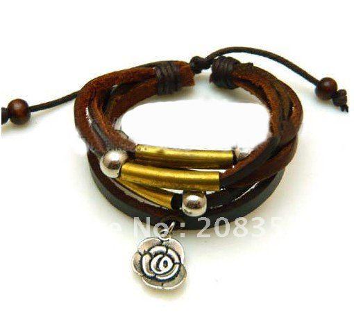 Symbol Tribal Wristband Bracelet surfer leather bracelets for men    Tribal Bracelets For Men