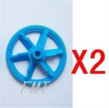 F00208-2 2x New Autorotation Tail Drive Gear for RC T-REX 450 Helicopter + Free shipping