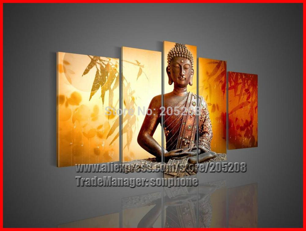 Slaapkamer feng shui kleuren : feng shui boeddha canvas schilderij ...