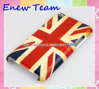 Free shipping USA American UK Flag Design Hard Back Cover Case For ipod Touch 4 4G