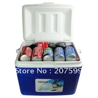 Free Shipping  Retail Guarantee 100% 19L PU Foam Portable Outdoor cooler box