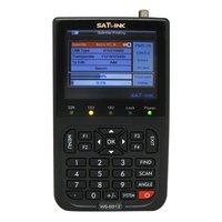 DHL free shipping sat finder lcd satlink WS-6912 DVB-S + DVB-S2 DIGITAL SATELLITE FINDER METER  & REAL TIME SPECTRUM ANALYZER