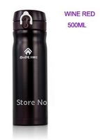 Genuine vacuum cup Ladies Men Kids insulation thermos cup holding water bottles handy cup-500ML