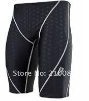 Genuine NEBO Swimwear By Hong Kong sharkskin knee-high men's swiming trunks