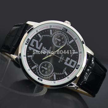 Лучшие продажи 2015 новинка мужская бизнес кварцевые часы Man мальчика спортивные часы военные свободного покроя платье наручные часы