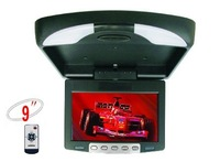 9 inch car LCD roof mount monitor/Flip down lcd monitor/bus monitor