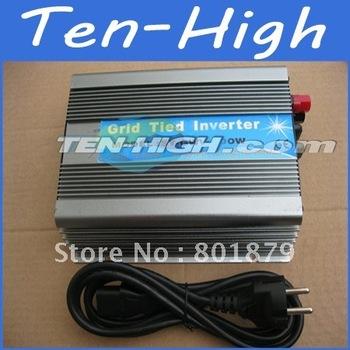 Fedex freeshipping! 500W Grid Tie Inverter for solar panel or wind turbine,Wide voltage input DC 15V-60V(24V 48V) Power Inverter