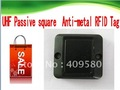 UHF(860-960MHZ) Passive square Anti-metal RFID Tag Free shipping
