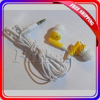 Wholesale 100pc/lot 3.5mm In-ear headphones headsets for Mp3 MP4 MP5 PSP free shopoing