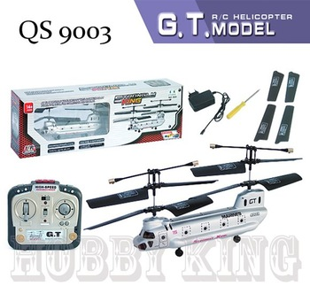 QS 9003 26CM 3CH RC Helicopter RTF ready to fly remote control helicopter Strongly King QS9003 Free shipping wholesale