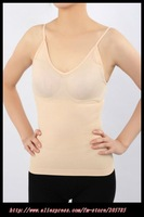 Black Color Weight Loss Fat Burning Slimming Vest Corset Body Shaper Chest 10pc/lot Freeshipping
