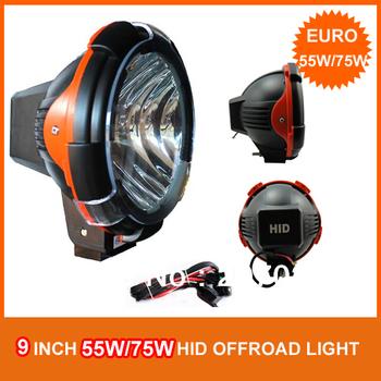 Pair 75W HID Xenon driving light,spotlight offroad light for ATV/UTV 4WD,Eurobeam