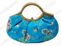 Free shipping! Wholesale lots 4 pcs Chinese Silk Bags,Handbags Purses