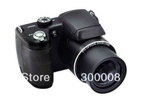 "Free shipping professional SLR digital camera with  16mp sensor and 21x optical zoom,3.0"" TFT LCD"