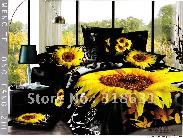 Shop Popular Black Yellow Bedding from China | Aliexpress
