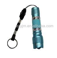 Promotion 75pcs/lot LED Flashlight  Body Bule