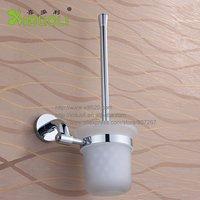 Xiduoli Free shipping Brass Toilet Brush Holder with Chromeplated XDL-15857